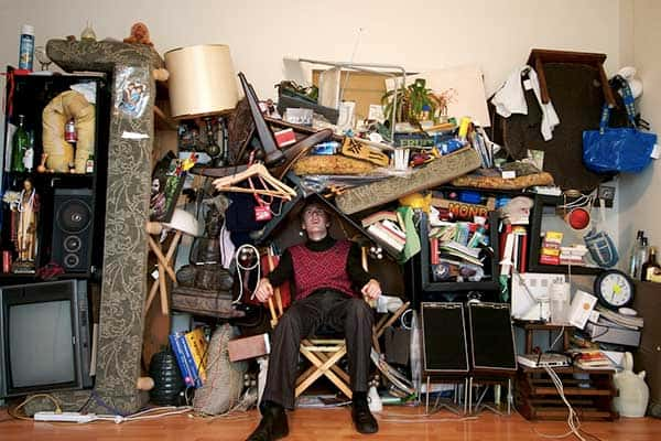Decluttering A House